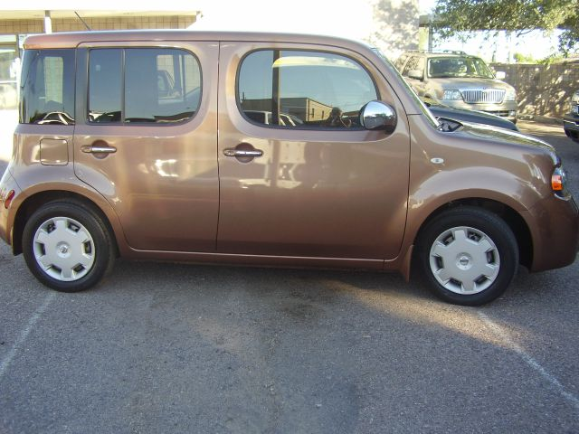 2011 NISSAN CUBE 18 SL 4DR WAGON gold 2-stage unlocking - remote abs - 4-wheel active head rest
