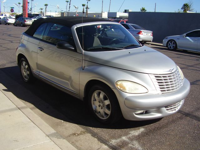 2005 CHRYSLER PT CRUISER TOURING 2DR CONVERTIBLE silver anti-theft system - alarm center console