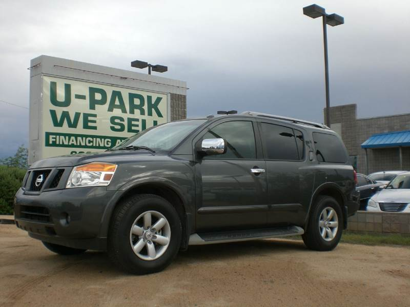 2010 NISSAN ARMADA SE 4X2 4DR SUV gray abs - 4-wheel active head restraints - dual front adjust