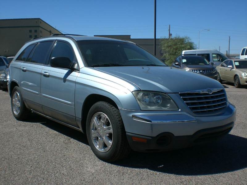 2006 CHRYSLER PACIFICA TOURING 4DR WAGON abs - 4-wheel air filtration airbag deactivation - occu