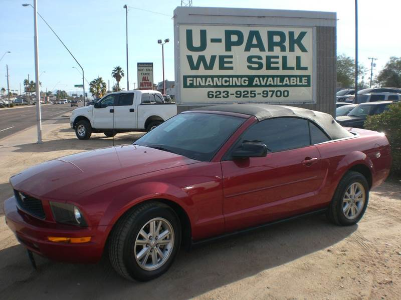 2007 FORD MUSTANG V6 DELUXE 2DR CONVERTIBLE airbag deactivation - occupant sensing passenger ante