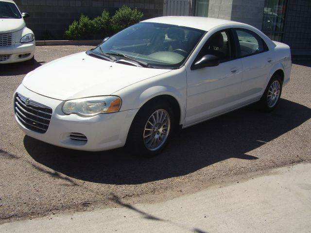2005 CHRYSLER SEBRING BASE 4DR SEDAN white center console - front console with storage clock cr