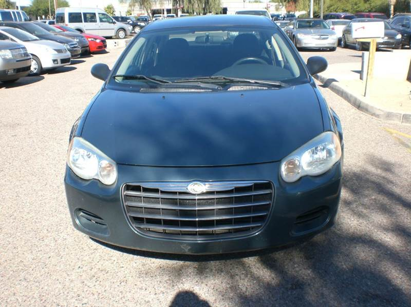 2006 CHRYSLER SEBRING TOURING 4DR SEDAN antenna type anti-theft system - engine immobilizer carg