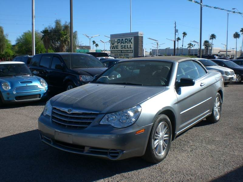 2008 CHRYSLER SEBRING LX 2DR CONVERTIBLE 2-stage unlocking doors abs - 4-wheel airbag deactivati