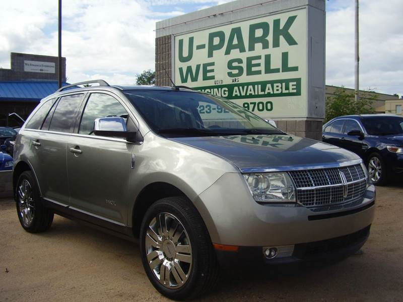 2008 LINCOLN MKX BASE 4DR SUV silver 2-stage unlocking - remote abs - 4-wheel airbag deactivati