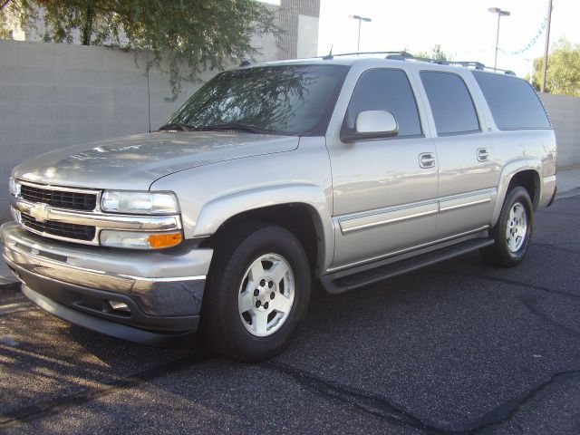 2005 CHEVROLET SUBURBAN 1500 LT 4DR SUV silver abs - 4-wheel adjustable pedals - power anti-the