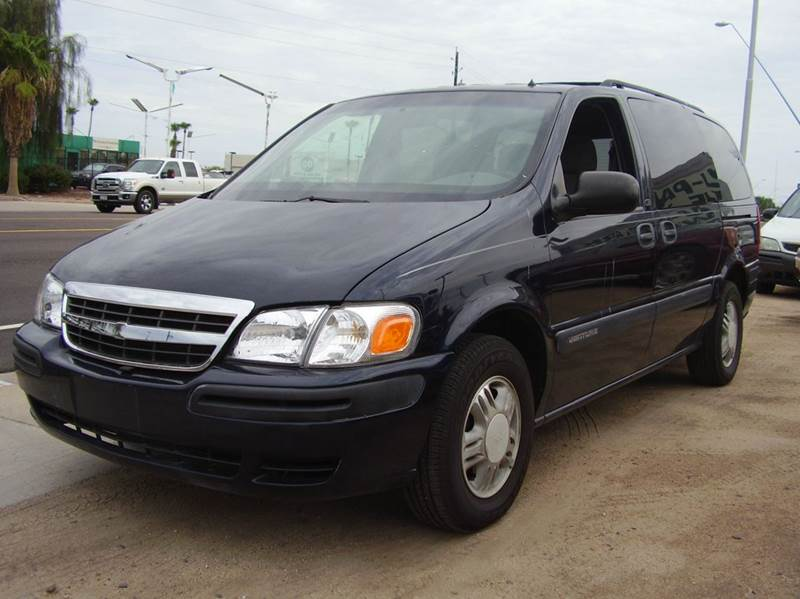 2001 CHEVROLET VENTURE LS 4DR EXTENDED MINI VAN blue abs - 4-wheel anti-theft system - alarm ca