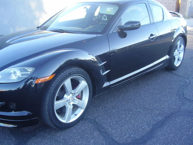 2008 MAZDA RX-8 GRAND TOURING 4DR COUPE MT black 2-stage unlocking abs - 4-wheel air filtration