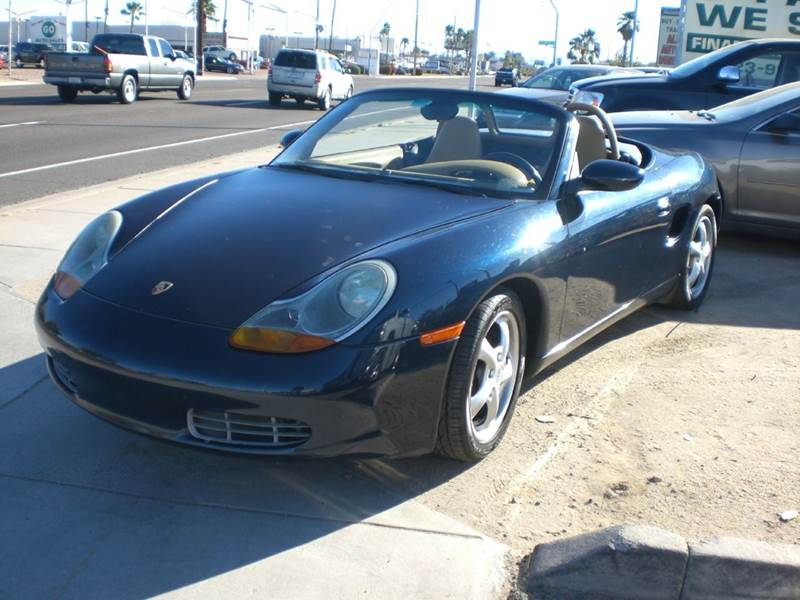 1999 PORSCHE BOXSTER BASE 2DR CONVERTIBLE abs - 4-wheel anti-theft system - alarm cassette cent