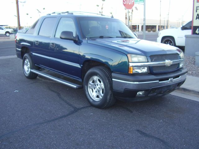 2006 CHEVROLET AVALANCHE LS 1500 4DR CREW CAB SB blue abs - 4-wheel airbag deactivation - occupan