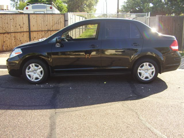 2010 NISSAN VERSA 18 S 4DR SEDAN 4A black abs - 4-wheel air filtration airbag deactivation - oc