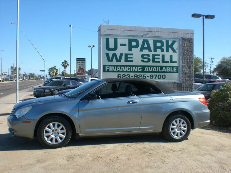 2010 CHRYSLER SEBRING LX 2DR CONVERTIBLE 2-stage unlocking - remote abs - 4-wheel active head re