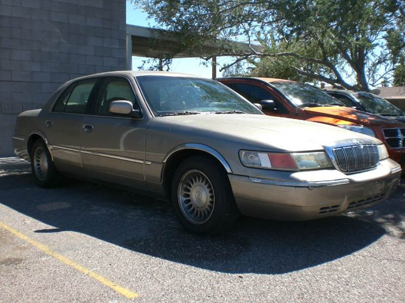 2002 MERCURY GRAND MARQUIS LS PREMIUM 4DR SEDAN abs - 4-wheel adjustable pedals - power anti-the