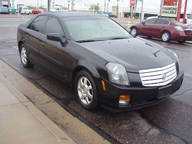 2007 CADILLAC CTS BASE 4DR SEDAN black 2-stage unlocking - remote abs - 4-wheel antenna type - d