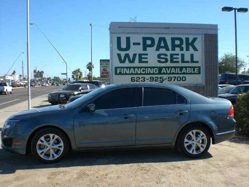 2012 FORD FUSION SE 4DR SEDAN 2-stage unlocking abs - 4-wheel air filtration airbag deactivatio