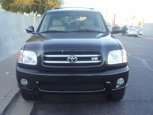 2002 TOYOTA SEQUOIA LIMITED 2WD 4DR SUV black abs - 4-wheel antenna type - power anti-theft syst