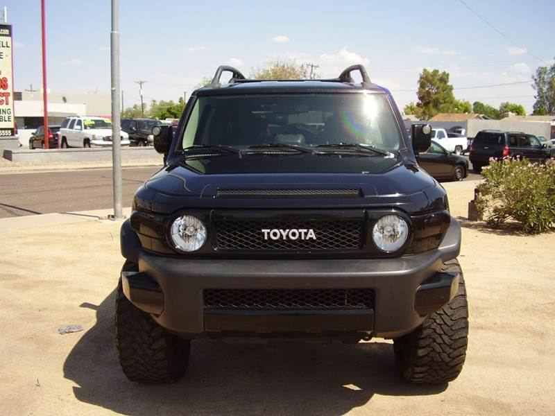 2010 TOYOTA FJ CRUISER BASE 4X4 4DR SUV 5A 4wd type - part time abs - 4-wheel active head restra