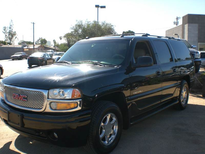 2004 GMC YUKON XL DENALI AWD 4DR SUV abs - 4-wheel active suspension adjustable pedals - power