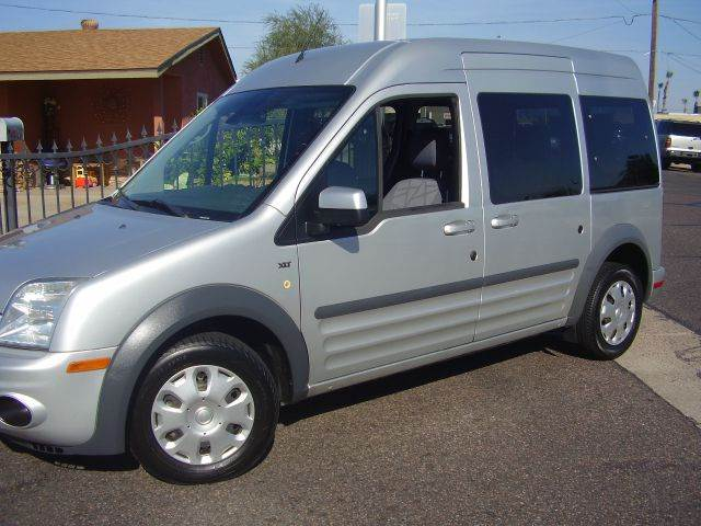 2012 FORD TRANSIT CONNECT 4DR MINI VAN silver abs - 4-wheel airbag deactivation - occupant sensi