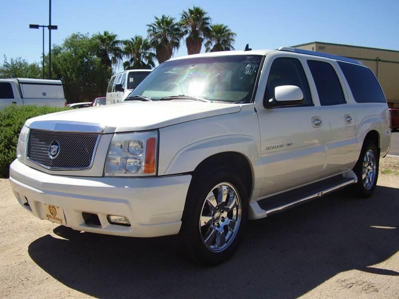 2006 CADILLAC ESCALADE ESV PLATINUM EDITION AWD 4DR SUV white abs - 4-wheel active suspension a
