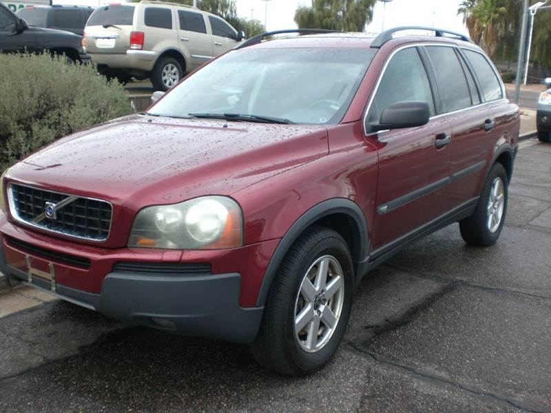 2005 VOLVO XC90 25T AWD 4DR TURBO SUV abs - 4-wheel anti-theft system - alarm center console -