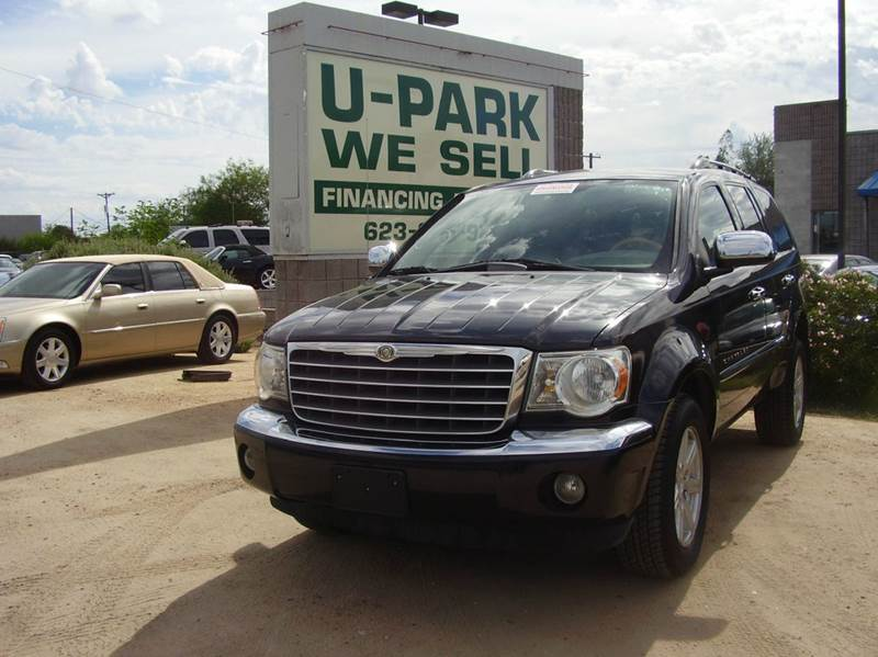 2007 CHRYSLER ASPEN LIMITED 4X2 4DR SUV black 2-stage unlocking - remote abs - 4-wheel airbag d