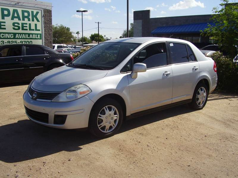 2009 NISSAN VERSA 18 SL 4DR SEDAN air filtration airbag deactivation - occupant sensing passenge