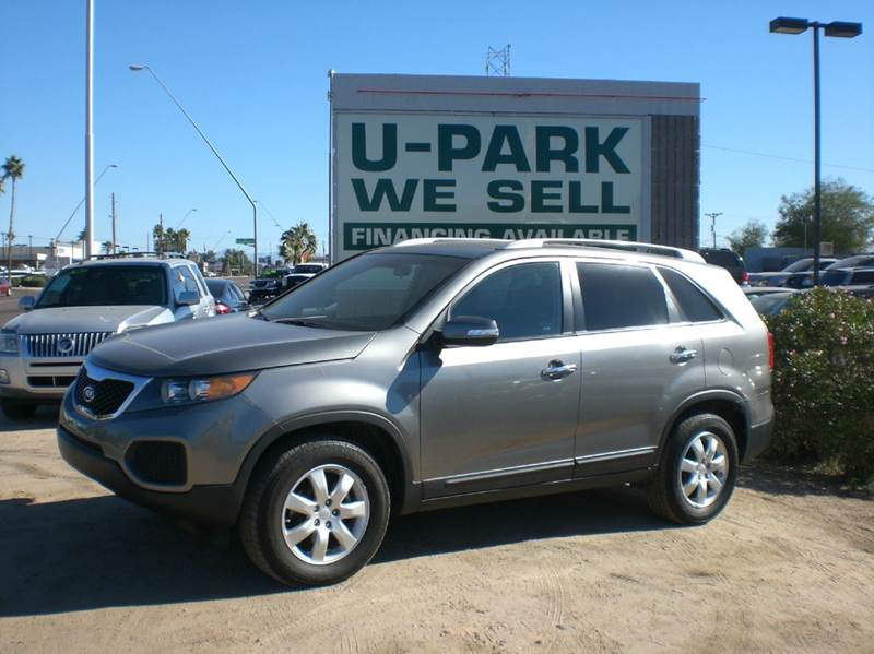 2011 KIA SORENTO LX 4DR SUV V6 2-stage unlocking abs - 4-wheel active head restraints - driver