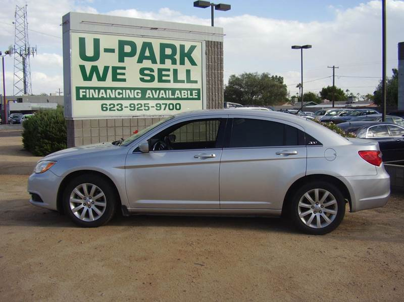 2011 CHRYSLER 200 TOURING 4DR SEDAN 2-stage unlocking - remote abs - 4-wheel air filtration air