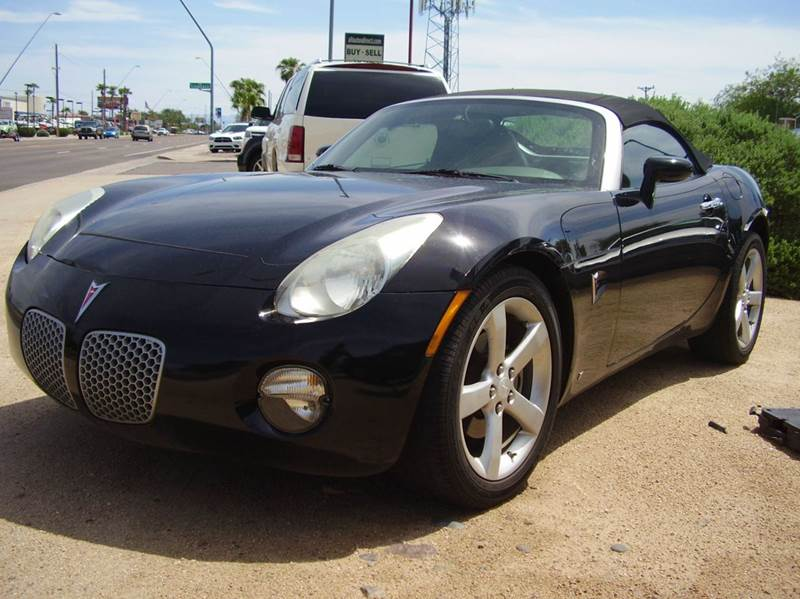 2008 PONTIAC SOLSTICE BASE 2DR CONVERTIBLE black airbag deactivation - occupant sensing passenger