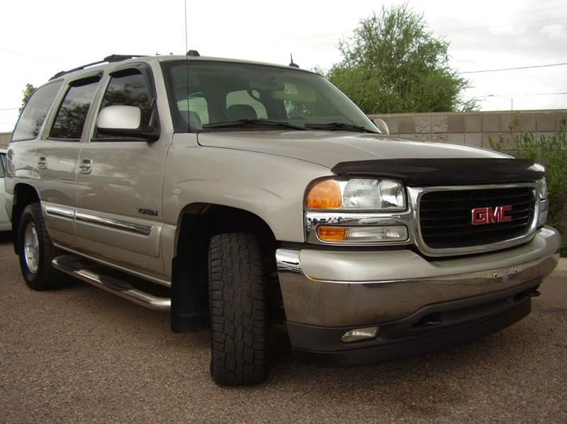 2005 GMC YUKON SLT 4WD 4DR SUV silver 4wd type - part time abs - 4-wheel anti-theft system - al