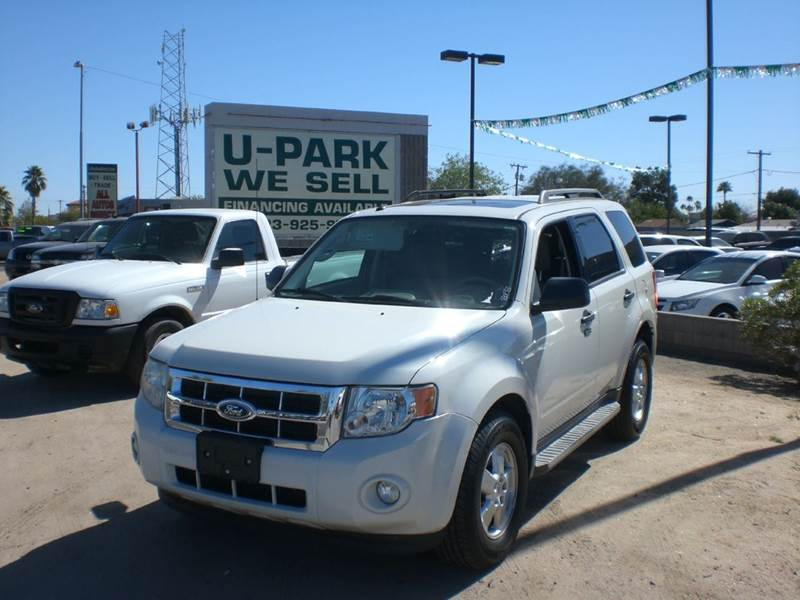 2010 FORD ESCAPE XLT 4DR SUV 2-stage unlocking doors abs - 4-wheel airbag deactivation - occupan