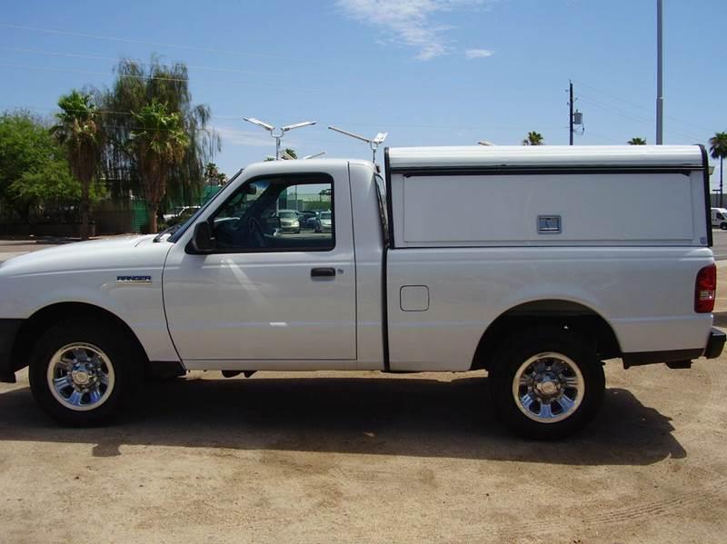 2011 FORD RANGER XLT 4X2 2DR REGULAR CAB SB white abs - 4-wheel airbag deactivation - occupant s