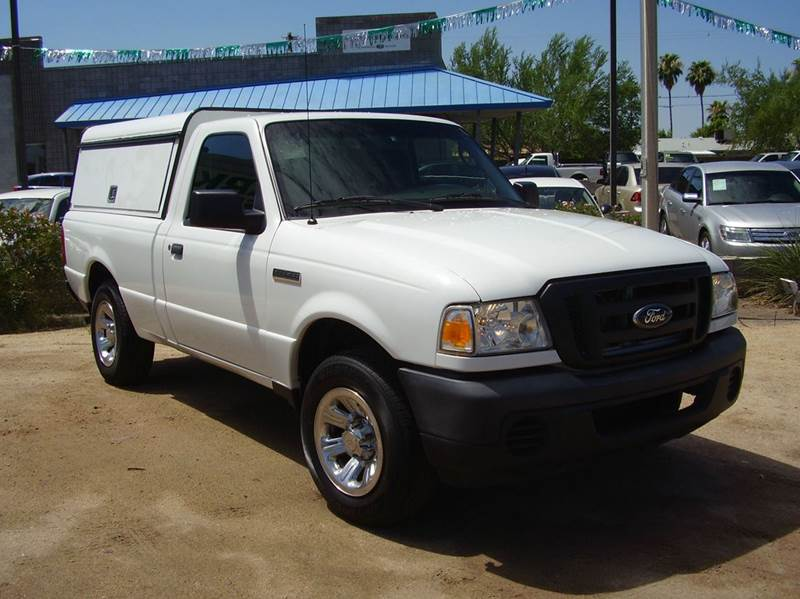 2011 FORD RANGER XLT 4X2 2DR REGULAR CAB SB white abs - 4-wheel airbag deactivation - occupant s