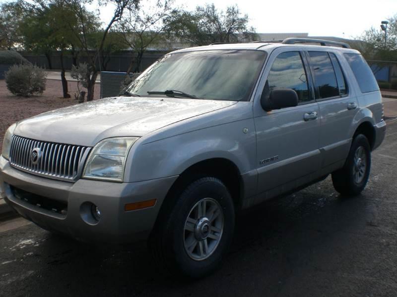 2002 MERCURY MOUNTAINEER BASE AWD 4DR SUV abs - 4-wheel anti-theft system - alarm axle ratio - 3
