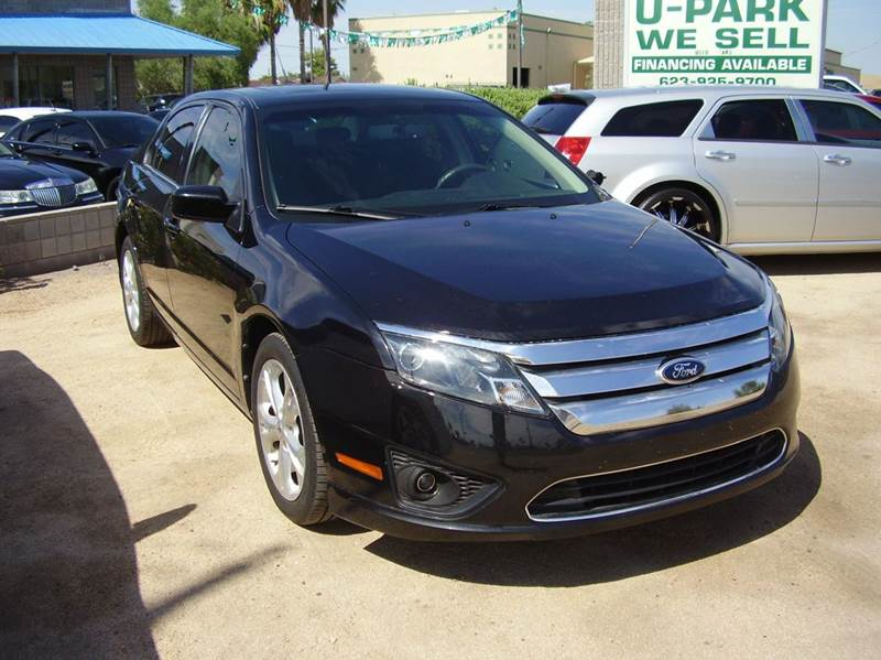 2012 FORD FUSION SE 4DR SEDAN black 2-stage unlocking abs - 4-wheel air filtration airbag deac