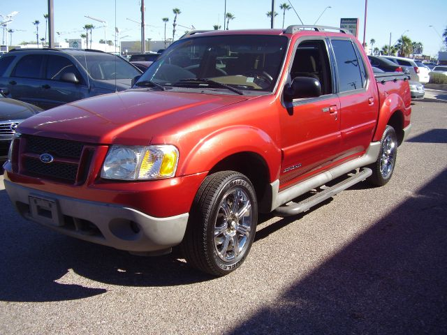 2001 FORD EXPLORER SPORT TRAC BASE 2WD 4DR CREW CAB red abs - 4-wheel anti-theft system - alarm