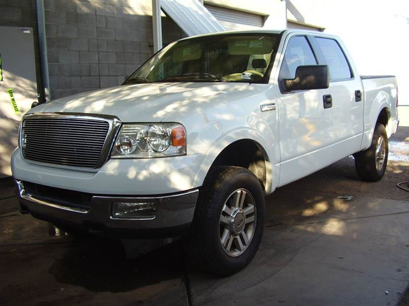 2005 FORD F-150 LARIAT 4DR SUPERCREW 4WD STYLESI white abs - 4-wheel adjustable pedals - power