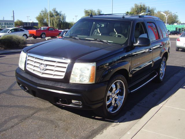 2003 CADILLAC ESCALADE BASE AWD 4DR SUV black abs - 4-wheel adjustable pedals - power anti-theft