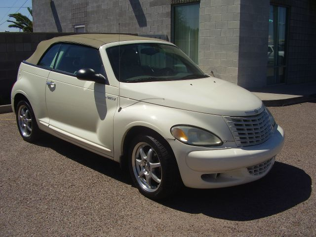 2005 CHRYSLER PT CRUISER GT 2DR CONVERTIBLE white abs - 4-wheel anti-theft system - alarm casse