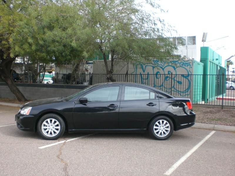 2012 MITSUBISHI GALANT FE 4DR SEDAN abs - 4-wheel airbag deactivation - occupant sensing passenge