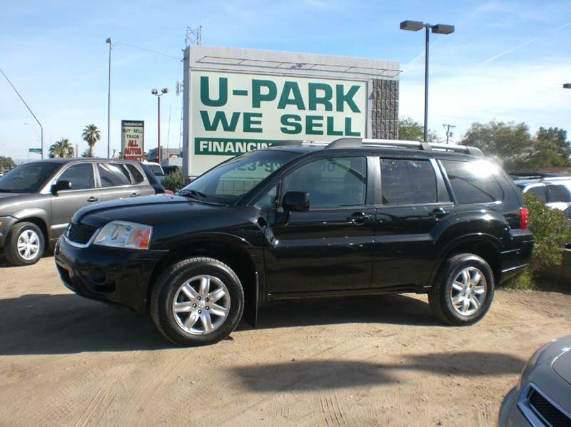 2010 MITSUBISHI ENDEAVOR LS 4DR SUV 2-stage unlocking - remote abs - 4-wheel airbag deactivation