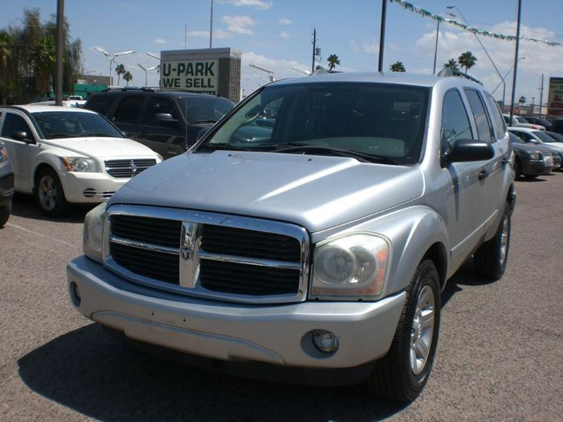 2005 DODGE DURANGO SLT 4DR SUV abs - 4-wheel axle ratio - 392 center console - front console wi