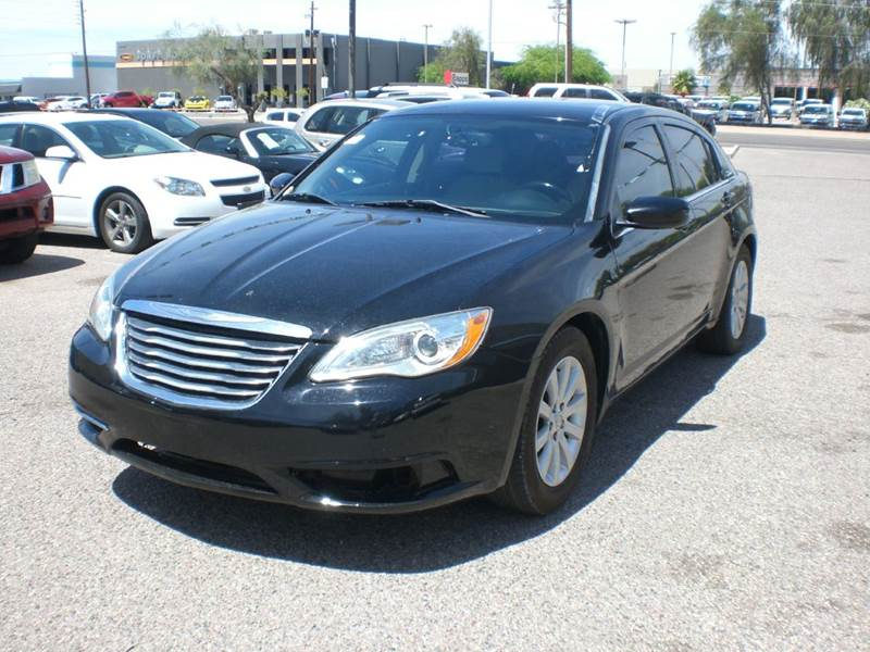 2013 CHRYSLER 200 TOURING 4DR SEDAN abs - 4-wheel active head restraints - dual front air filtra