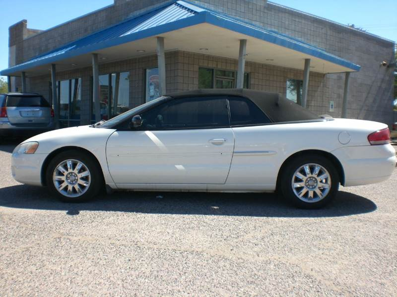 2005 CHRYSLER SEBRING LIMITED 2DR CONVERTIBLE abs - 4-wheel anti-theft system - alarm center con