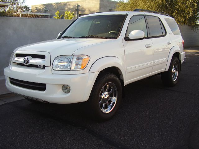 2005 TOYOTA SEQUOIA SR5 4WD 4DR SUV white abs - 4-wheel anti-theft alarm system anti-theft syst