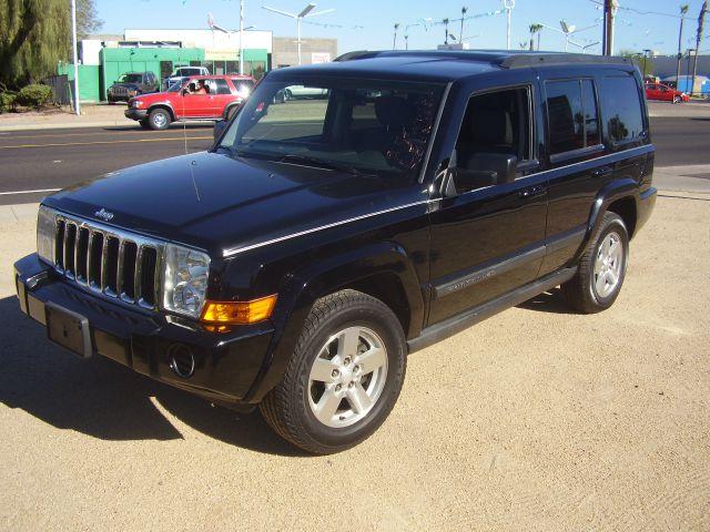 2007 JEEP COMMANDER SPORT 4DR SUV black 2-stage unlocking - remote abs - 4-wheel antenna type -