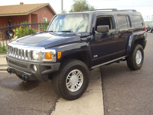 2007 HUMMER H3 BASE 4DR SUV 4WD blue 2-stage unlocking - remote 4wd type - full time abs - 4-whe