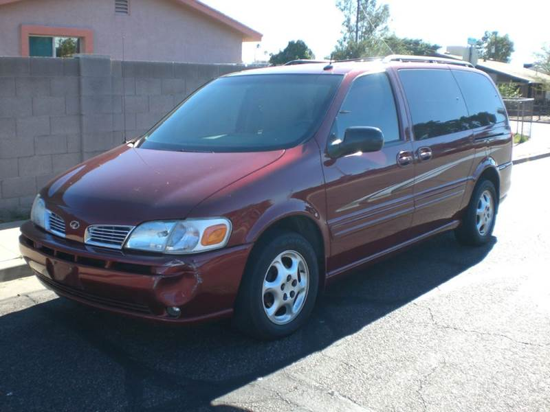 2003 OLDSMOBILE SILHOUETTE GLS 4DR EXTENDED MINI VAN abs - 4-wheel air suspension - rear anti-th