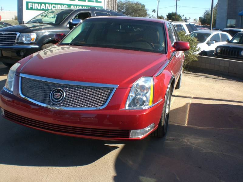 2008 CADILLAC DTS PERFORMANCE 4DR SEDAN 2-stage unlocking doors abs - 4-wheel active suspension